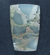Gorgeous Lucky Strike Moss  Agate Cabochon-  #17628