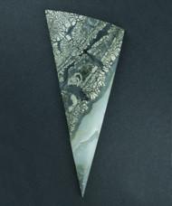 Exceptional Nipomo Marcasite Agate Designer Cabochon   #17634