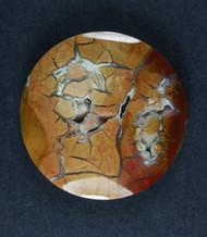 Gorgeous Chapenite Brecciated Jasper Cabochon- Druzy  #17679