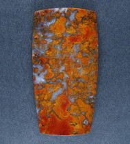 Colorful Sonoran Plume Agate Designer Cabochon  #17681