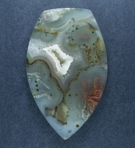 Gorgeous Lucky Strike Moss  Agate Cabochon-  #17767