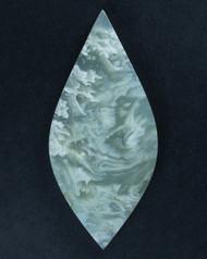 Intricate White Ochoco Tube Agate Designer Cabochon  #17799