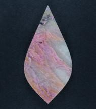 Pink Tejon Dam Rhodonite Cabochon - Beautiful Colors  #17809