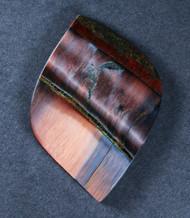 Dramatic Marra Mamba  Cabochon -  Rare Copper Red, Cobalt Blue  #17841
