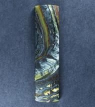 Dramatic Australian Tiger Iron Cabochon -  Great colors  #17919