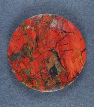 Beautiful Tabu Tabu Jasper Cabochon - Great Color!   #17929