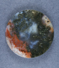 Gorgeous Woodward Ranch Plume Agate Cabochon  #17934