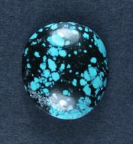 Gorgeous Hubei Spiderweb Turquoise Cabochon  #17957