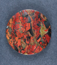 Beautiful Tabu Tabu Jasper Cabochon - Great Color!   #18021