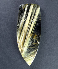 Fantastic! Rutilated Quartz Cabochon -w- Golden Needles #18028