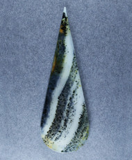Montana Agate Designer Cabochon - Dramatic Dendrites!   #18078