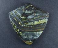 Dramatic Australian Tiger Iron Cabochon -  Great colors  #18092