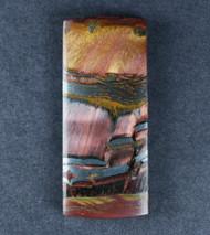 Dramatic Marra Mamba  Cabochon -  Rare Cobalt Blue, Red, Yellow   #18113
