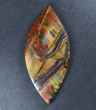 Dramatic Marra Mamba  Cabochon -  Rare Copper Red, Blue and Yellow  #18143