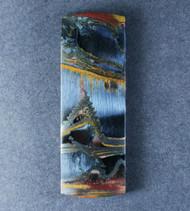 Dramatic Marra Mamba  Cabochon -  Rare Copper Red, Cobalt Blue  #18159