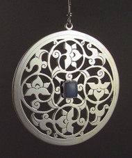 Handmade Sterling Silver Ornament