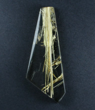 Fantastic! Rutilated Quartz Cabochon -w- Golden Needles #18220