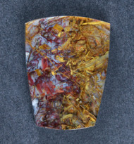 Gorgeous Pietersite Cabochon- Chatoyant Red and Gold   #18258