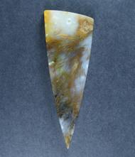 Gorgeous Designer Cabochon of Nipomo Sagenite Agate  #18279