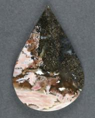 Fantastic Eagle Rock Plume Agate Cabochon  #18326