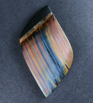 Dramatic Marra Mamba  Cabochon- Blue,  Red and Yellow  #18464
