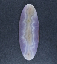 Intricate Purple and Pink Aztec Lace Agate Designer Cabochon  #18505