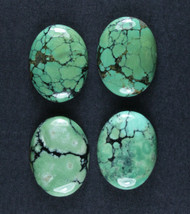 Gorgeous Hubei Spiderweb Turquoise - Matched Set  #18555