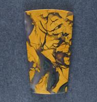 Rare! Dramatic Figuroa Jasper Designer Cabochon  #18561