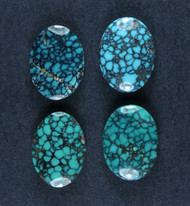 Gorgeous Hubei Spiderweb Turquoise - Matched set  #18573