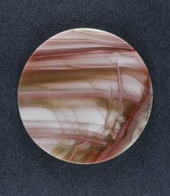 Dramatic Pink and Green Spiderweb Imperial Jasper Cabochon #18608