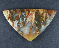 Top Shelf Graveyard Point Plume Agate Designer Cabochon  #18631