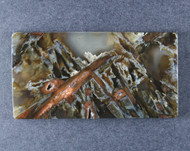 Gorgeous Turkish Stick Agate Collectors Cabochon  #18646
