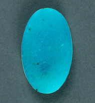 Bright Blue Arizona Gem Chrysocolla Designer Cabochon  #18683