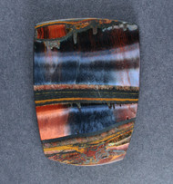 Dramatic Marra Mamba  Cabochon -  Rare Copper Red, Cobalt Blue  #18695