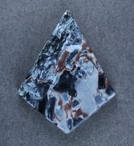 Amazing Chatoyant Blue Namibian Pietersite Cabochon #18760