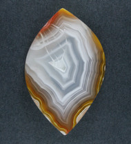 Red and Yellow Coyamito Fotification Agate Cabochon #18774