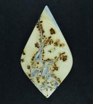 Gorgeous Malignano Brecciated Jasper Cabochon    #18820