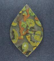 Colorful Indian Fruit Jasper Designer Cabochon  #18863