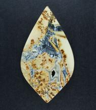 Gorgeous Malignano Brecciated Jasper Cabochon   #18865