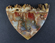 Top Shelf Graveyard Point Plume Agate Designer Cabochon  #18870