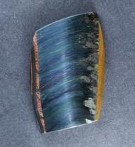 Dramatic Marra Mamba  Cabochon -  Rare Cobalt Blue   #18872
