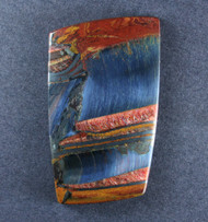 Dramatic Marra Mamba  Cabochon -  Rare Copper Red, Cobalt Blue  #18874