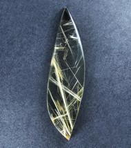 Fantastic! Rutilated Quartz Cabochon -w- Golden Needles  #18913