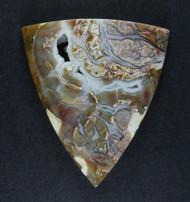 Amazing Chapenite Brecciated Jasper Cabochon   #18988