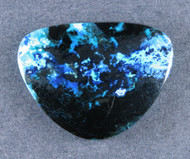 Blue Bird Chrysocolla and Azurite Cabochon   #19009