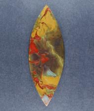 Colorful Indonesian Jasper Designer Cabochon  #19038