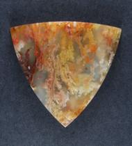 Top Shelf Graveyard Point Plume Agate Designer Cabochon  #19039