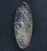 Fantastic! Rutilated Quartz Cabochon -w- Golden Needles  #19058