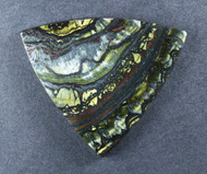 Dramatic Australian Tiger Iron Cabochon -  Great colors  #19081