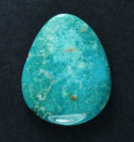 Gorgeous Lone Mtn Spiderweb Turquoise Cabochon  #19142